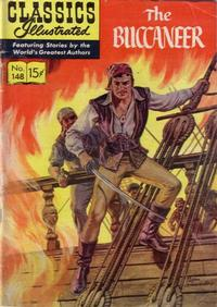 Cover Thumbnail for Classics Illustrated (Gilberton, 1947 series) #148 [O] - The Buccaneer