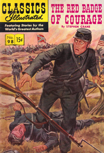 Cover for Classics Illustrated (Gilberton, 1947 series) #98 [O] - The Red Badge of Courage