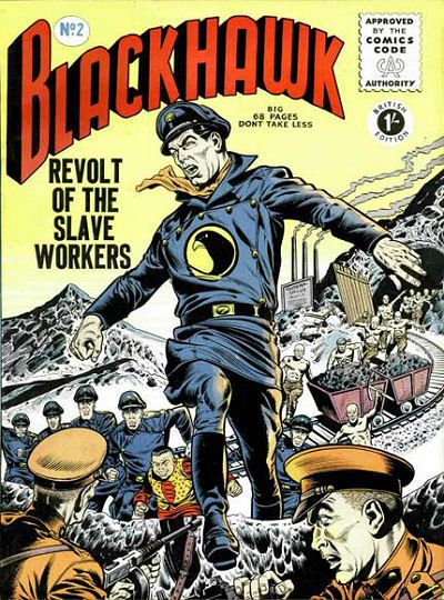 Cover for Blackhawk (Thorpe & Porter, 1956 series) #2