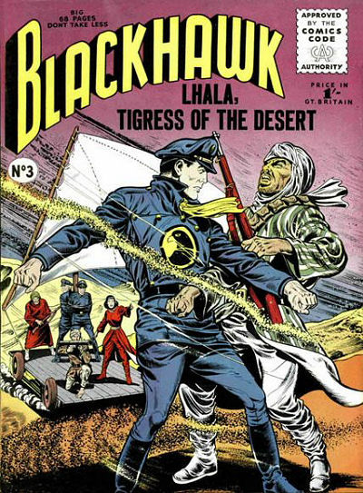 Cover for Blackhawk (Thorpe & Porter, 1956 series) #3
