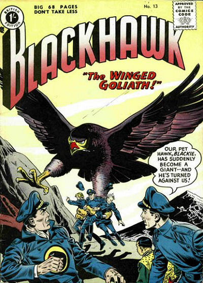 Cover for Blackhawk (Thorpe & Porter, 1956 series) #13