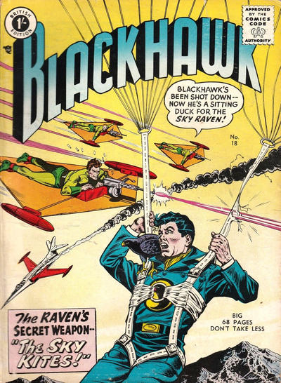 Cover for Blackhawk (Thorpe & Porter, 1956 series) #18