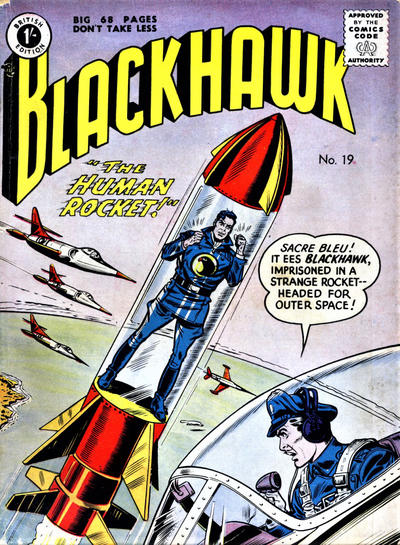 Cover for Blackhawk (Thorpe & Porter, 1956 series) #19