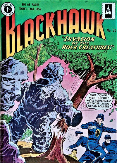 Cover for Blackhawk (Thorpe & Porter, 1956 series) #35