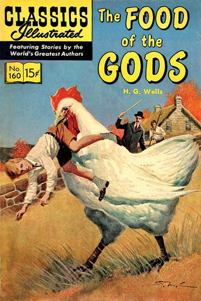 Cover for Classics Illustrated (Gilberton, 1947 series) #160 [O] - The Food of the Gods