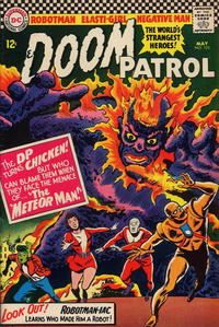 Cover Thumbnail for The Doom Patrol (DC, 1964 series) #103