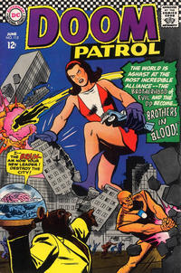 Cover Thumbnail for The Doom Patrol (DC, 1964 series) #112