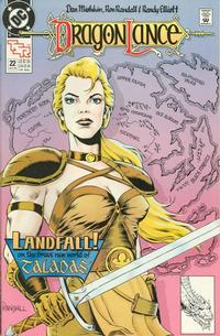 Cover Thumbnail for Dragonlance (DC, 1988 series) #22