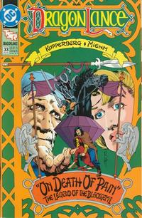 Cover Thumbnail for Dragonlance (DC, 1988 series) #33