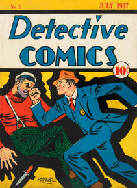 Cover Thumbnail for Detective Comics (DC, 1937 series) #5