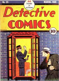 Cover Thumbnail for Detective Comics (DC, 1937 series) #25