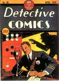 Cover Thumbnail for Detective Comics (DC, 1937 series) #26
