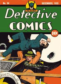 Cover Thumbnail for Detective Comics (DC, 1937 series) #34