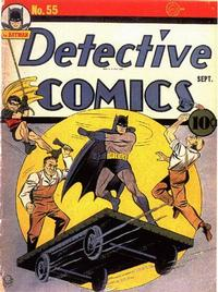 Cover Thumbnail for Detective Comics (DC, 1937 series) #55