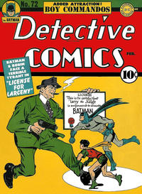 Cover Thumbnail for Detective Comics (DC, 1937 series) #72