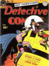 Cover Thumbnail for Detective Comics (DC, 1937 series) #75