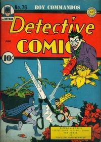 Cover Thumbnail for Detective Comics (DC, 1937 series) #76