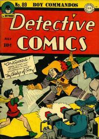 Cover Thumbnail for Detective Comics (DC, 1937 series) #89