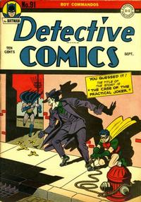 Cover Thumbnail for Detective Comics (DC, 1937 series) #91