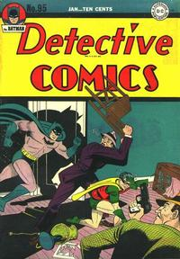 Cover Thumbnail for Detective Comics (DC, 1937 series) #95