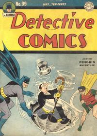Cover Thumbnail for Detective Comics (DC, 1937 series) #99