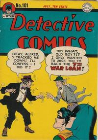 Cover Thumbnail for Detective Comics (DC, 1937 series) #101