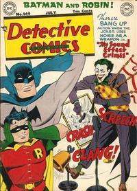 Cover for Detective Comics (1937 series) #149