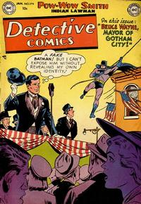 Cover Thumbnail for Detective Comics (DC, 1937 series) #179