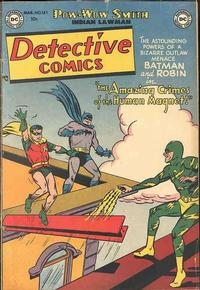 Cover Thumbnail for Detective Comics (DC, 1937 series) #181