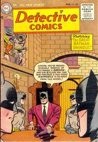 Cover Thumbnail for Detective Comics (DC, 1937 series) #222