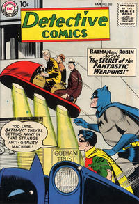 Cover Thumbnail for Detective Comics (DC, 1937 series) #263
