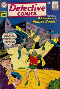 Cover Thumbnail for Detective Comics (DC, 1937 series) #290