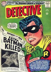 Cover Thumbnail for Detective Comics (DC, 1937 series) #347