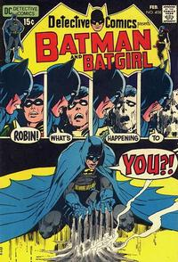 Cover Thumbnail for Detective Comics (DC, 1937 series) #408