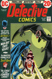 Cover Thumbnail for Detective Comics (DC, 1937 series) #429