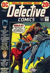 Cover Thumbnail for Detective Comics (DC, 1937 series) #430