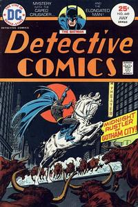 Cover Thumbnail for Detective Comics (DC, 1937 series) #449