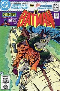 Cover Thumbnail for Detective Comics (DC, 1937 series) #496