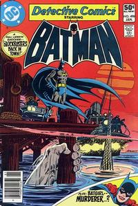 Cover for Detective Comics (DC, 1937 series) #498