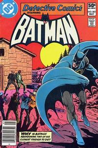 Cover Thumbnail for Detective Comics (DC, 1937 series) #502 [Newsstand]