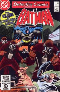 Cover Thumbnail for Detective Comics (DC, 1937 series) #533