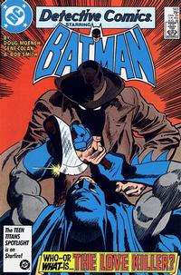 Cover for Detective Comics (DC, 1937 series) #565