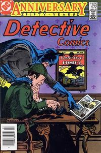 Cover for Detective Comics (DC, 1937 series) #572 [Direct]