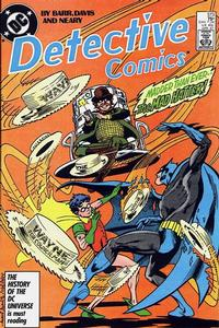Cover Thumbnail for Detective Comics (DC, 1937 series) #573
