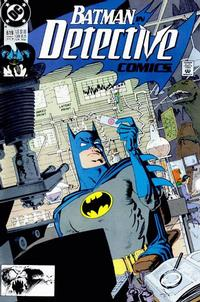 Cover Thumbnail for Detective Comics (DC, 1937 series) #619 [Direct]