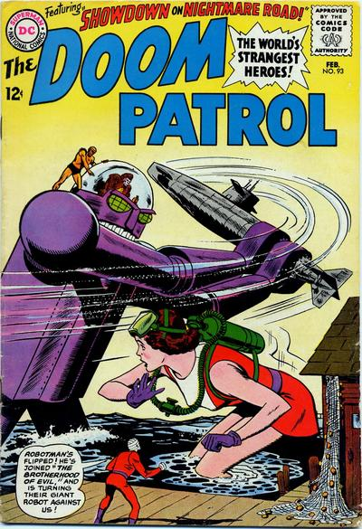 Cover for The Doom Patrol (1964 series) #93