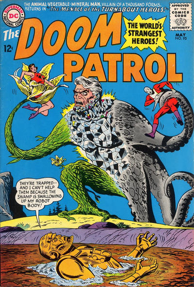 Cover for The Doom Patrol (DC, 1964 series) #95