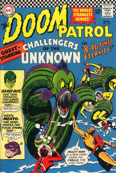 Cover for The Doom Patrol (DC, 1964 series) #102