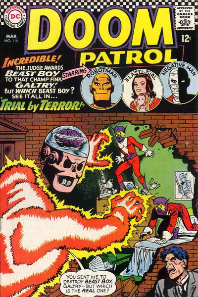 Cover for The Doom Patrol (1964 series) #110