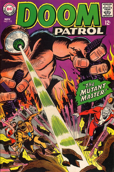 Cover for The Doom Patrol (1964 series) #115